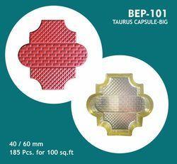 Taurus Moonstone Capsule Design PVC Moulds