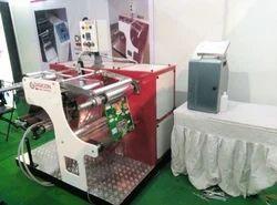Rewinder Machine with Inkjet Printer