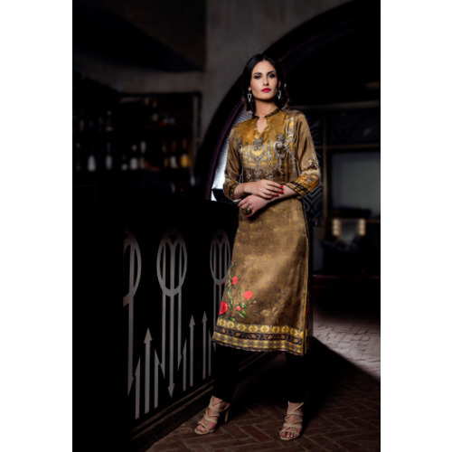 Ladies Partywear Printed Kurtis