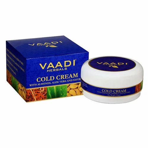 Cold Cream With Almond Oil, Vitamin-E & Aloe Vera
