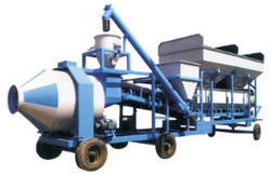 Water Pump Mobile Concrete Batching Plants