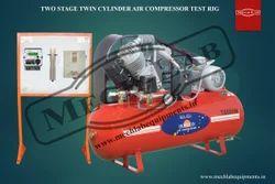 Single Stage Single Cylinder Air Compressor Test Rig