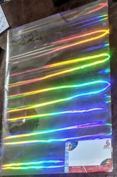 Holographic Rainbow Lamination Film