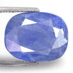 7.98 Carats Blue Sapphire