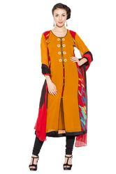 Styling Beautiful Party Wear Designer Long Salwar Suit