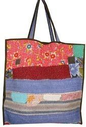 Vintage Kantha Tote Bag