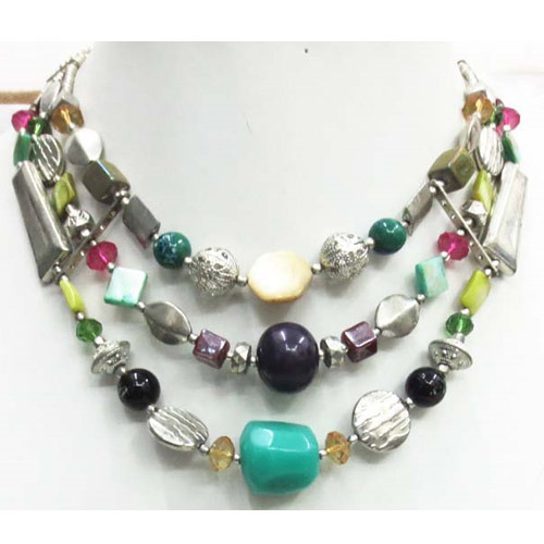 Statement Stone Necklace
