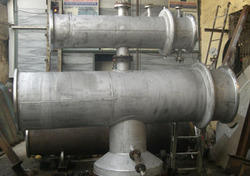 Heat Exchanger with Vent Condenser