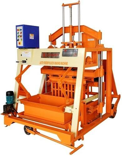 Industrial Auto Feeder Hollow Block Machine