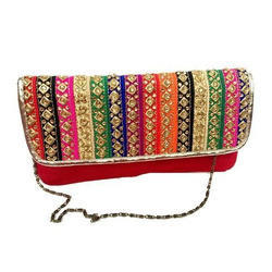 Sling Bag - Designer Embroidered Clutch Potli Manufacturer from ...