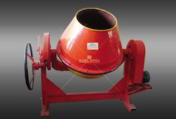 Machine For Mixing Concrete