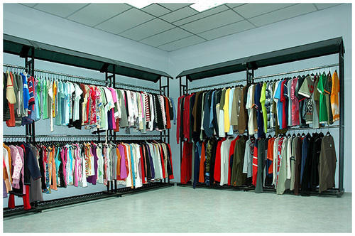 Garment Showroom Display Rack