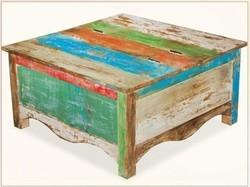 Reclaimed Wood Coffee Table - Reclaimed Wood Furniture