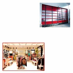 High Speed Door for Showroom
