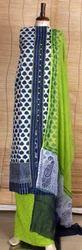 Designer Cotton Unstitch Dress Material Sets