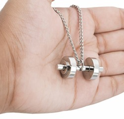 Gym Dumbbell Pendant