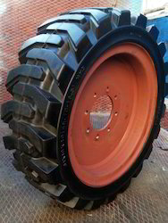 Heavy- Duty Industrial Solid Press- On Tyres
