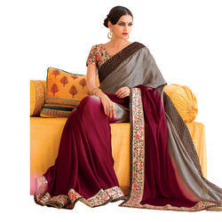 Fancy Chanderi Saree