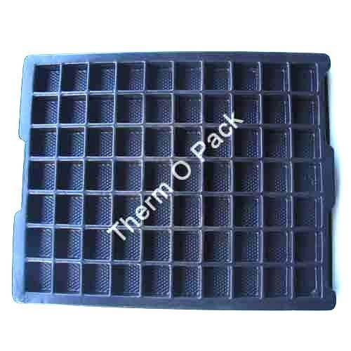Dissipative Antistatic Trays