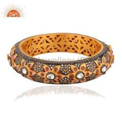 CZ Gemstone Fashion Bangles