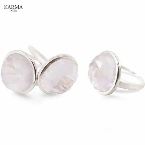 Gemstone Designer Sterling Silver Rings