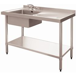 Sink With Worktable