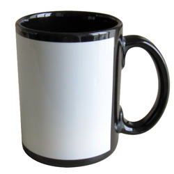 Sublimation Full Color Mug-Black