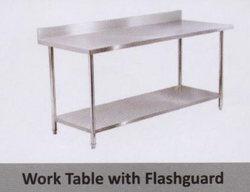 Work Table with Flash Guard