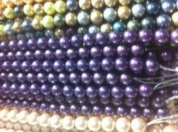 Multi Colored Pearl Beads