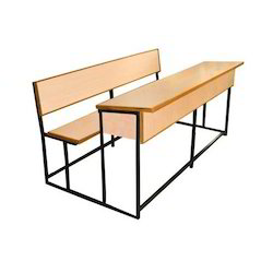 Classroom double desk dual seat table manufacturer from new delhi