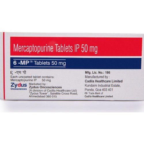 Mercaptopurine Tablets IP 50mg