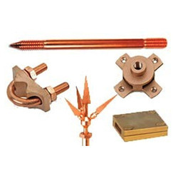 Brass Earthing Clamp