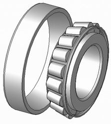 imb ball roller tapper bearing for f w i lm48548 10