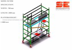 Structural scaffolding steel stair access tower - Exterior scaffolding rental near me ...
