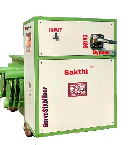 3 Phase Servo Stabilizer Price from 1 KVA to 100 KVA