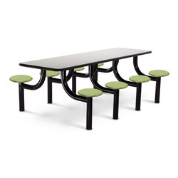 Eight Seater Canteen Table