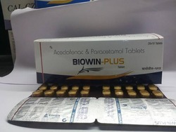 Acceclofenac 100MG Paracetamol 325MG