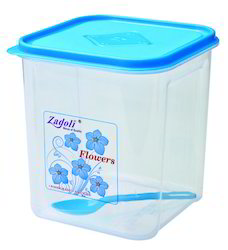 Plastic Airtight Square Container 2500ML