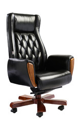Wooden Leather Executive Chairs