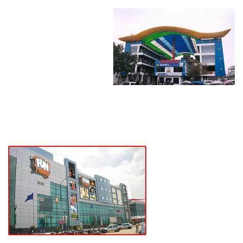 FRP Roofing Sheets for Malls