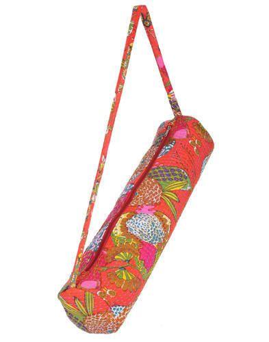 Ethnic Kantha Work Yoga Mat Bag