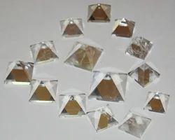 Natural Crystal Pyramids
