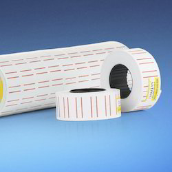 White Price Label Roll