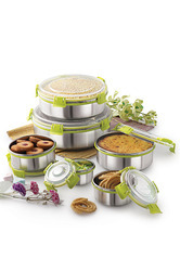 Air Tight Stainless Steel Containers