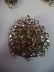 Temple Jewellery with Ganesha Pendant