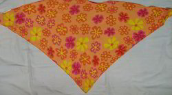 Cotton Flower Printed Bandana