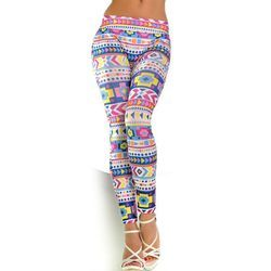 China Printed Ankle Legging