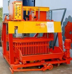 Hydraulic Operated Mobile Concrete Hollow Block Machine 105