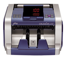 currency counting machine godrej crusader lite