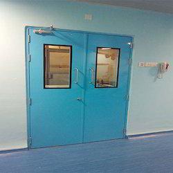 Clean Room Double Door